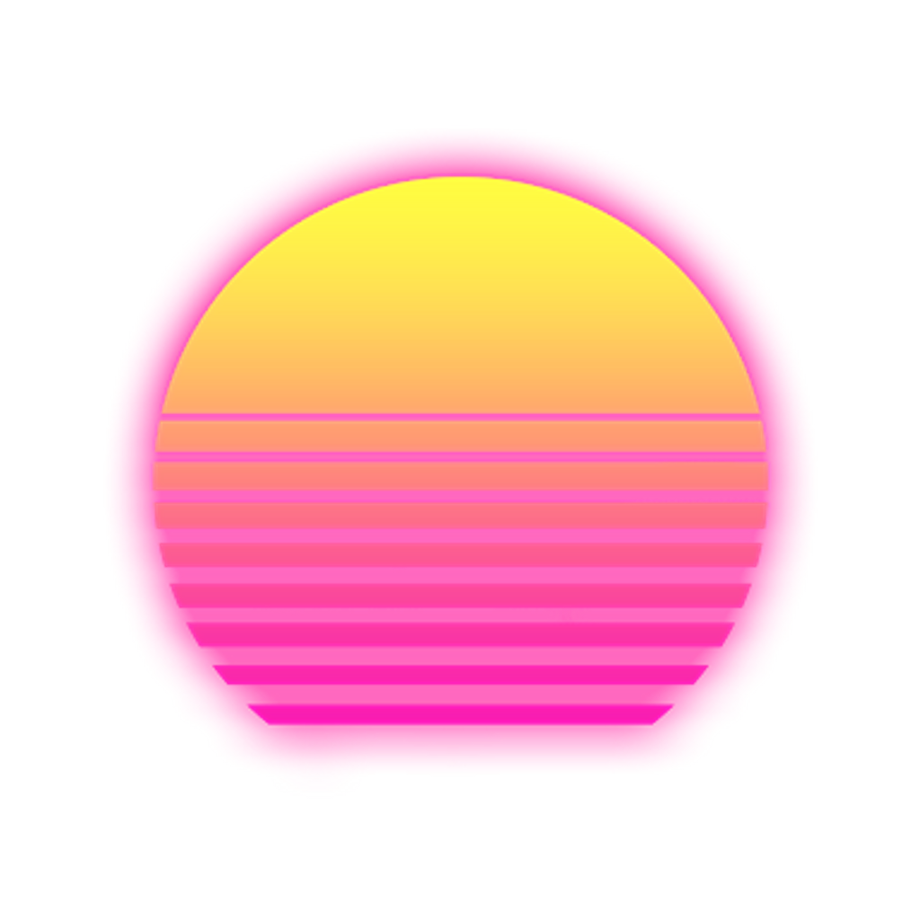 Png vaporwave. Retro sunset retrosunset