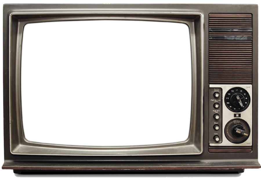 Vintage tv png. Television retro report abuse