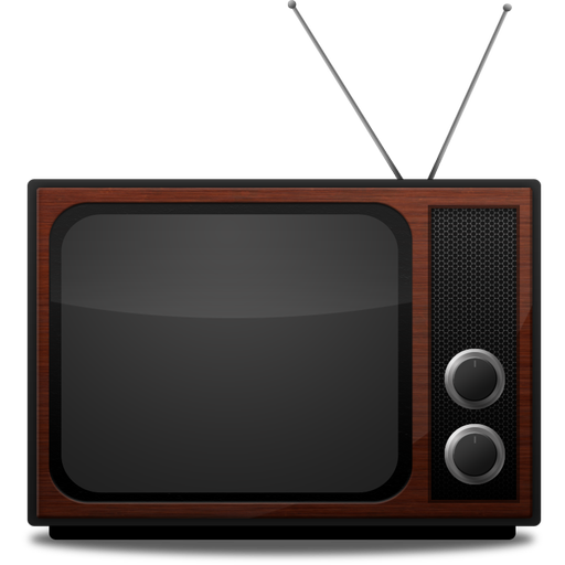 retro television png
