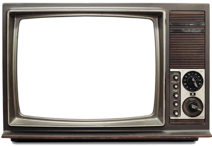 Retro tv png. Old television image purepng