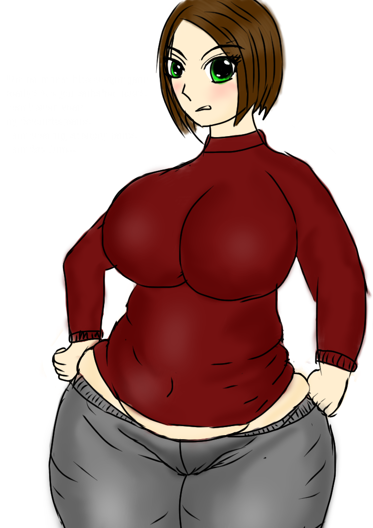 Revenge drawing weight gain. No harm in a
