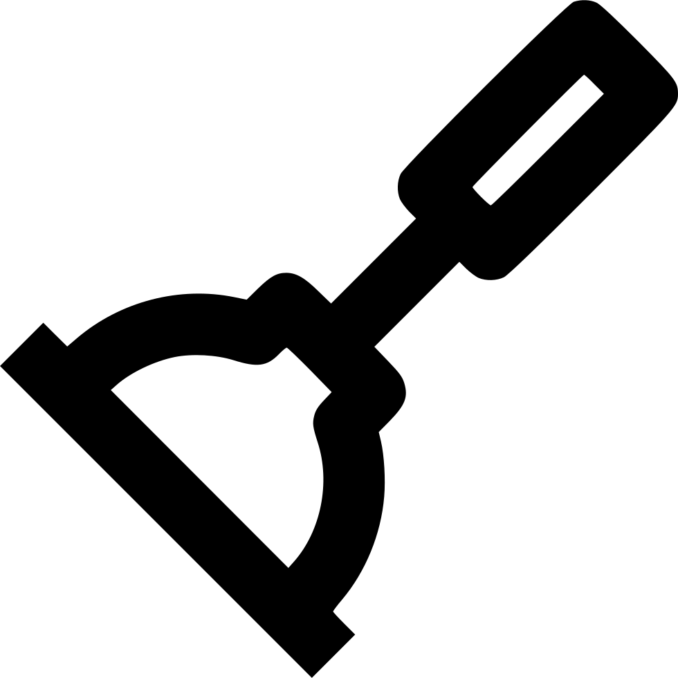 Reverse clip plunger. Svg png icon free