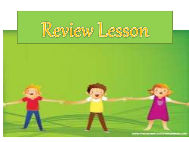 Review clipart lesson. And drill