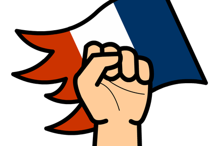 Revolution drawing french. Download wallpaper people clipart