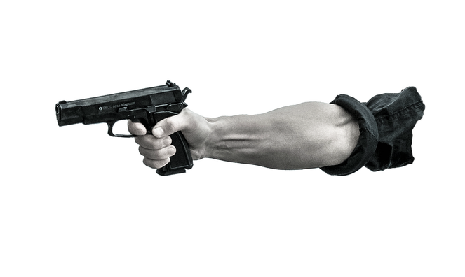 Revolver gun pointing png. If you give a