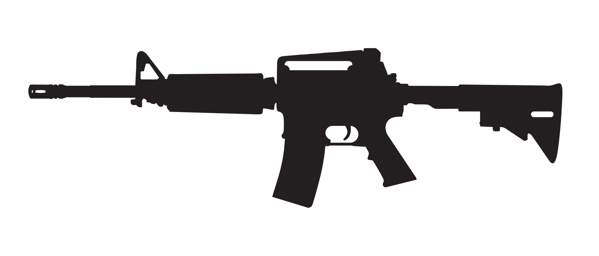 Revolver silhouette png. Colt at getdrawings com