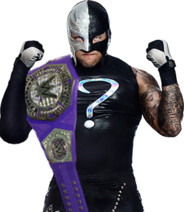 Rey mysterio question mark png. Wwe cruiserweight champion by