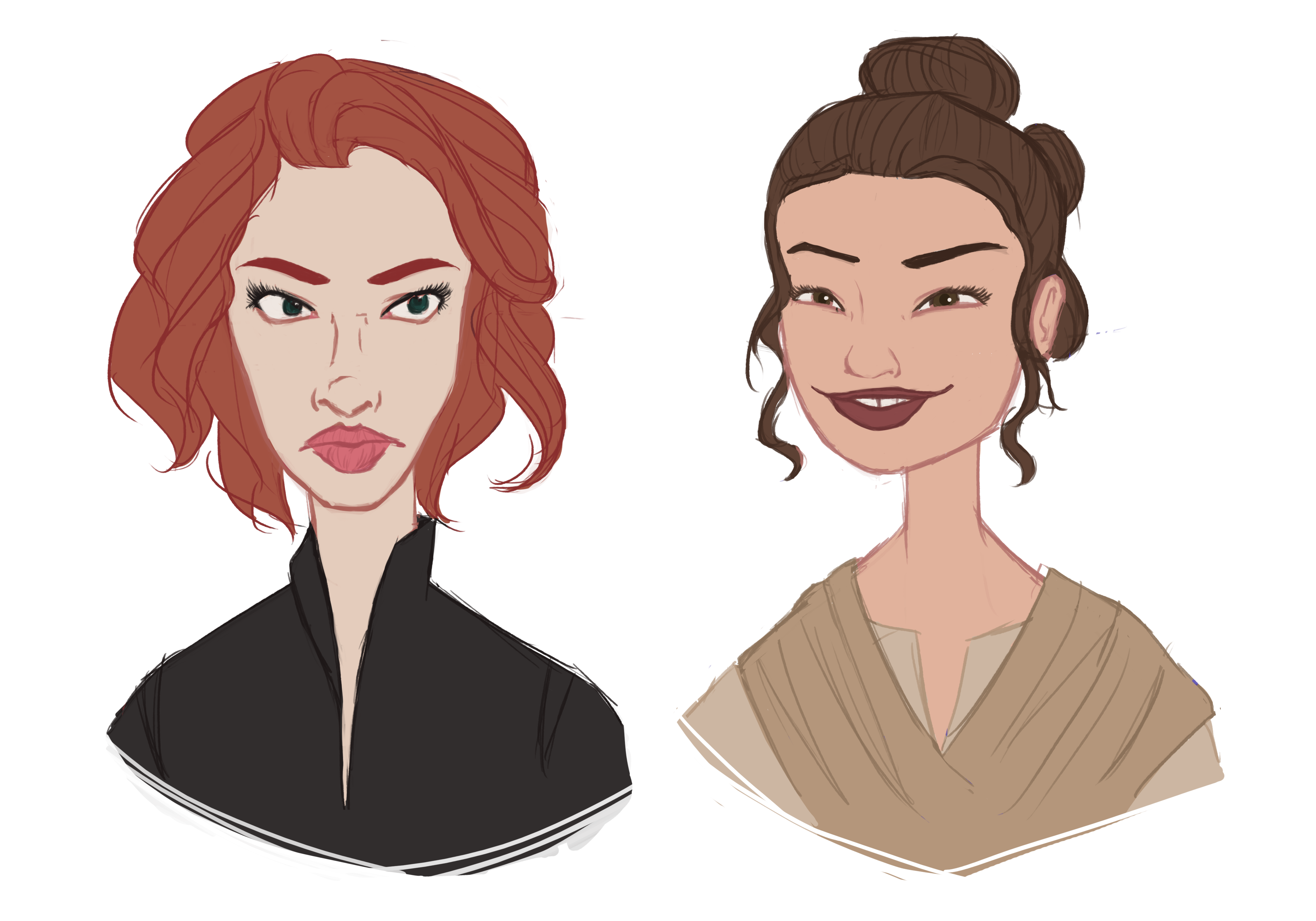 Rey star wars png transparent. Character caricature scarlett daisy