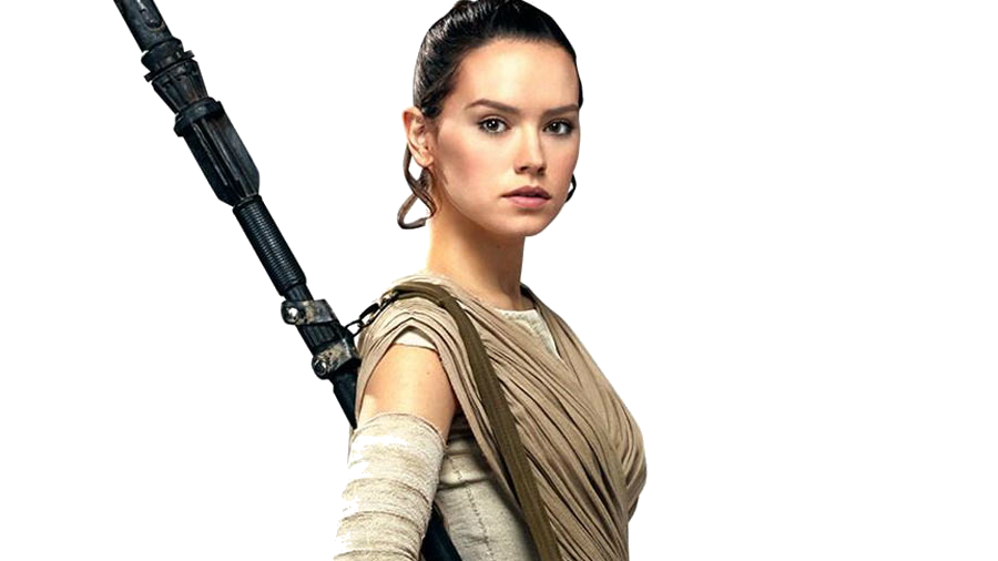 Rey star wars png transparent. Daisy ridley the last