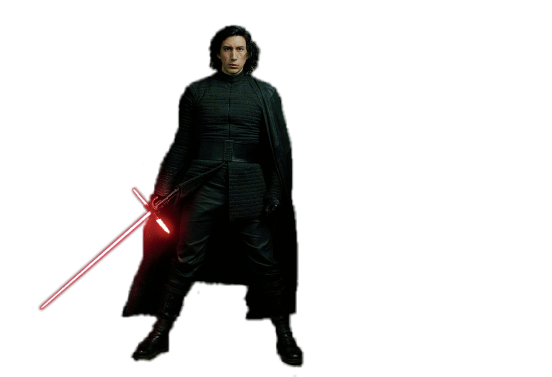 Rey the last jedi png. Kylo ren render by