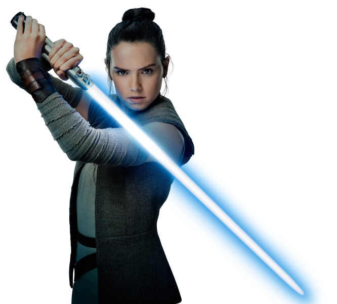 Rey the last jedi png. Star wars daisy ridley