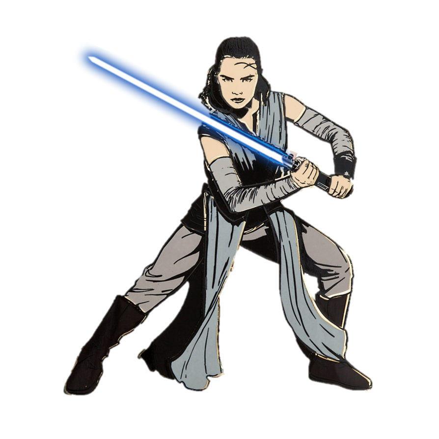 Rey the last jedi png. By captain kingsman on