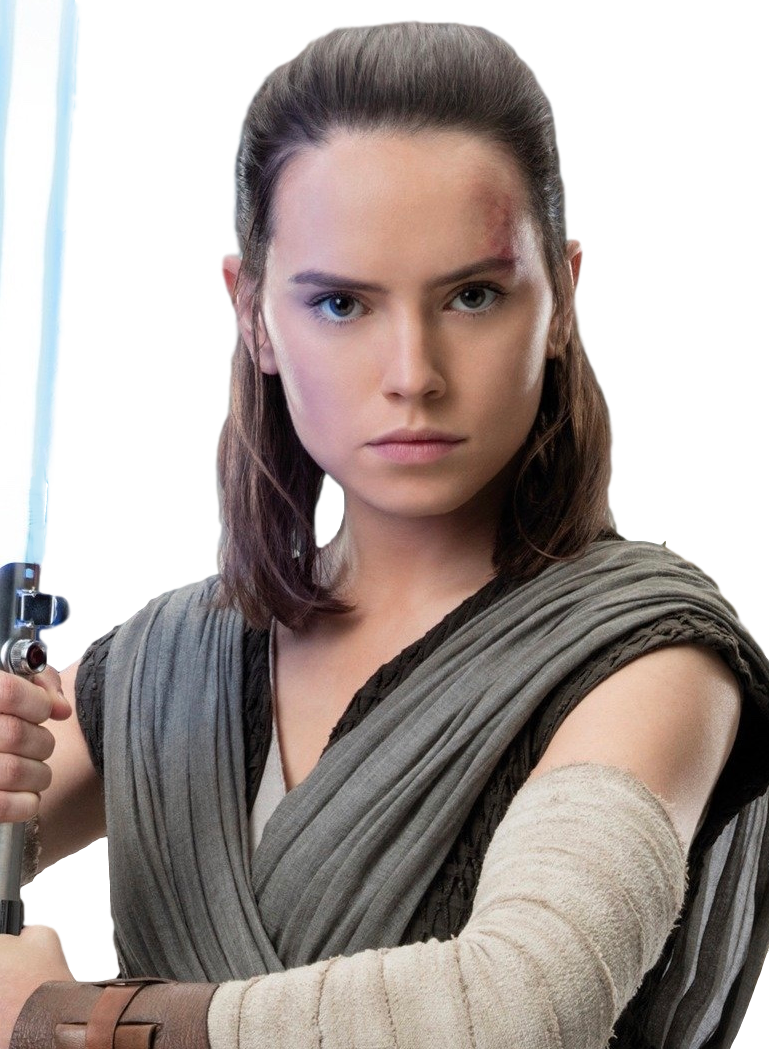 Rey the last jedi png. Image promo not to