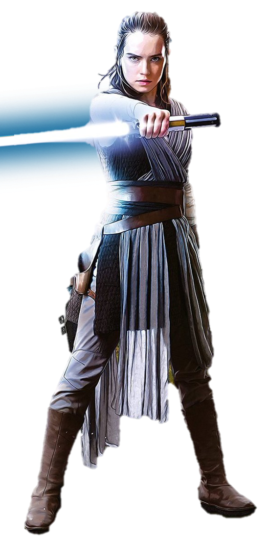 Rey the last jedi png. Image by captain kingsman