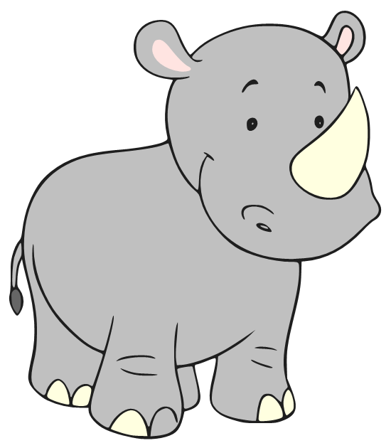 Rhinos drawing baby. Beanie s tag you