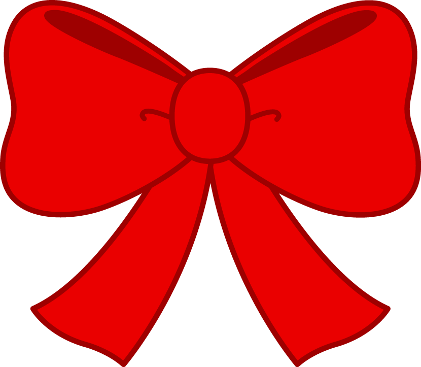 Vector bows cheer bow. Red clipart clipartxtras lt