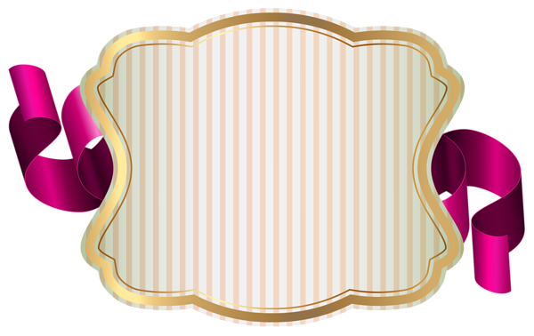 Ribbon clipart label. With png clip art