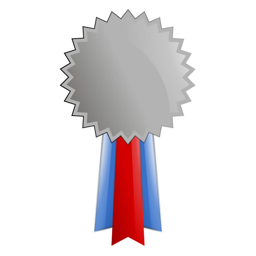 Medal drawing platinum. Free silver cliparts download