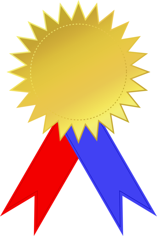 Ribbon clipart silver medal. Gold award free commercial