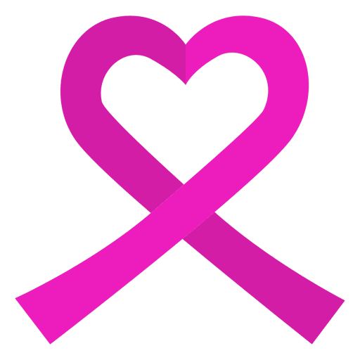 Ribbon heart png. World cancer day transparent