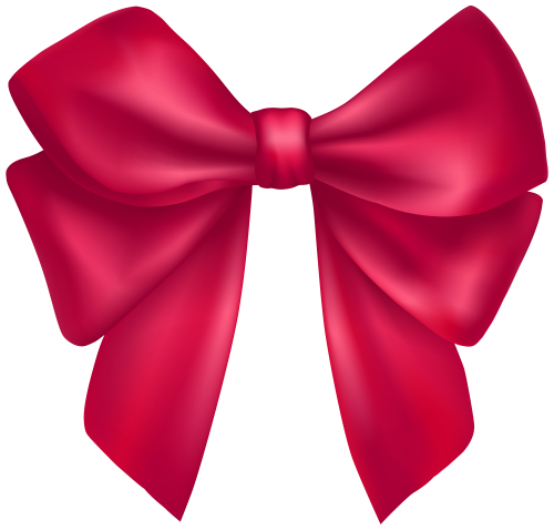 Ribbon stitches png. Dark pink bow clipart
