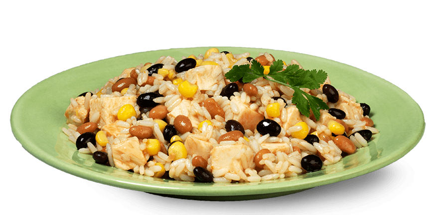 Rice and beans png. Bush s one pot