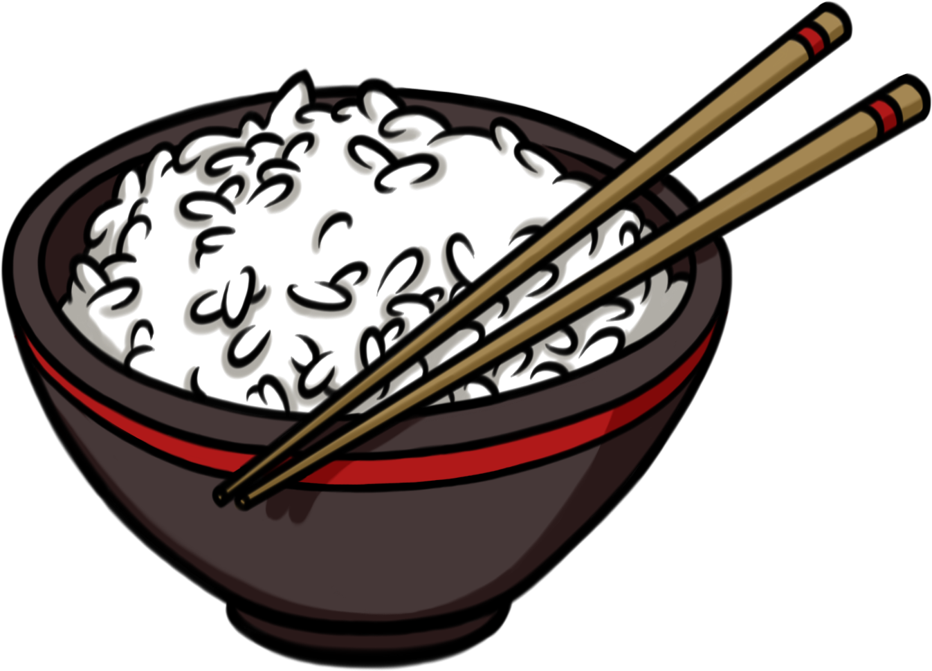 Rice chopsticks png. Collection of drawing