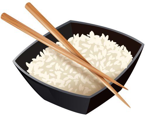 Chopsticks clipart plate rice. Chinese and best web