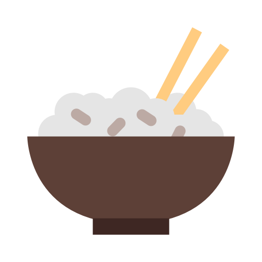 Punch bowl png. Rice icon with and