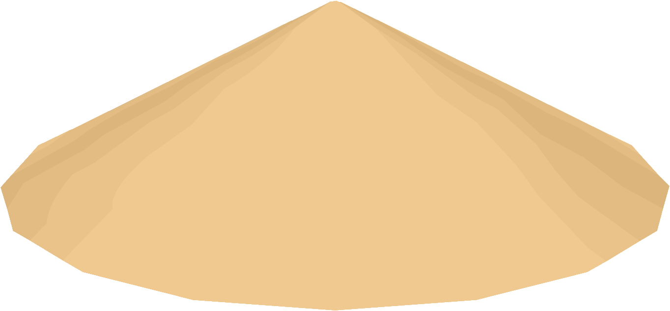 Conical coconut