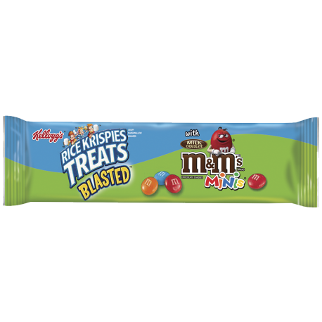 Rice krispies treats png. Kellogg s blasted with