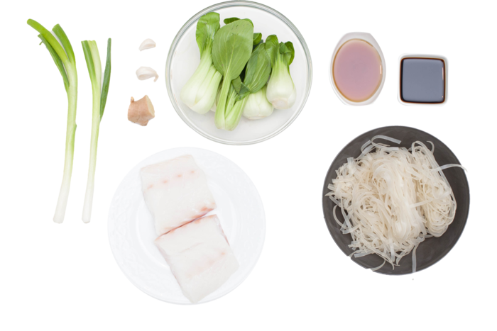 Rice noodles png. Recipe pan seared cod