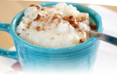 Rice pudding png. Old fashioned recipe spry