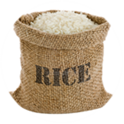 Rice sack png. Pounds lbs food haitinet