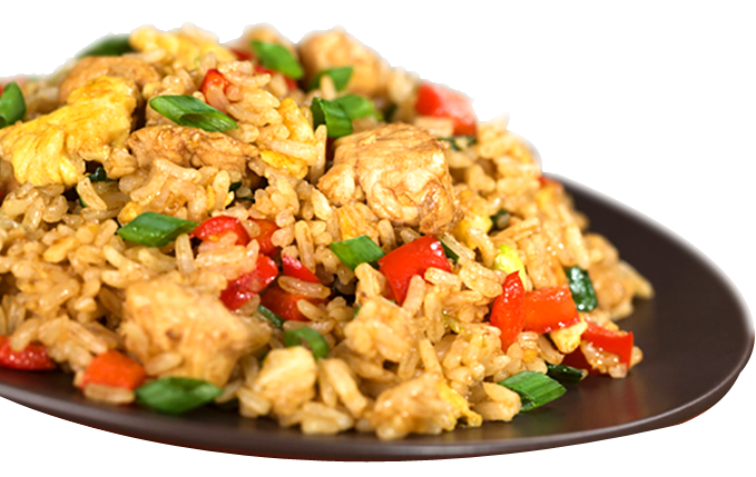 Fried rice png. R chicken i sushi