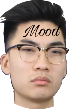 Ricegum drawing. Mood sticker by jecenia