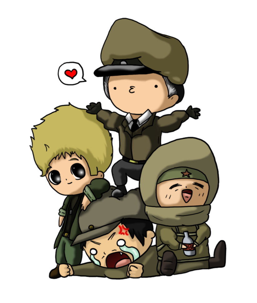 Cod drawing nikolai. The group by thelittleanimals