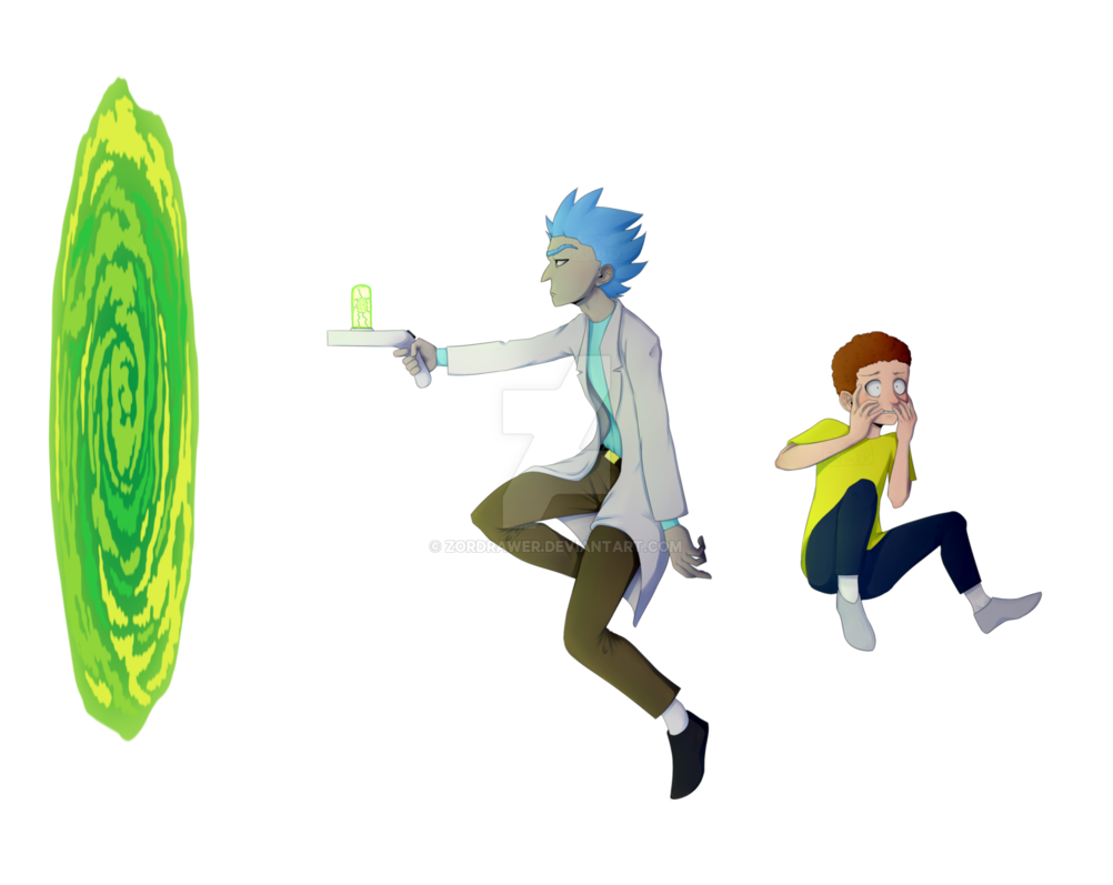 Rick and morty emoji png. By zordrawer on deviantart