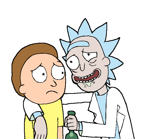Rick and morty emoji png. Image mart