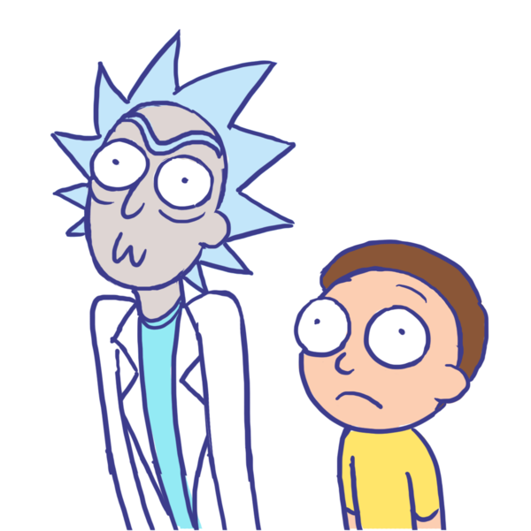 Rick and morty icon png. By sonicrocksmysocks on deviantart