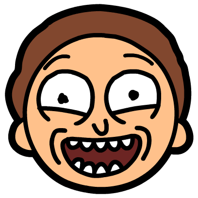 Rick and morty face png. Pocket mortys by adult
