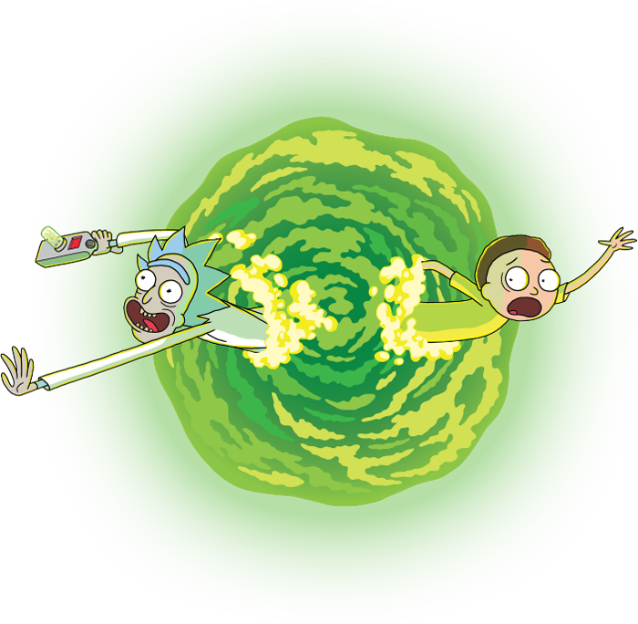 rick and morty portal gun png