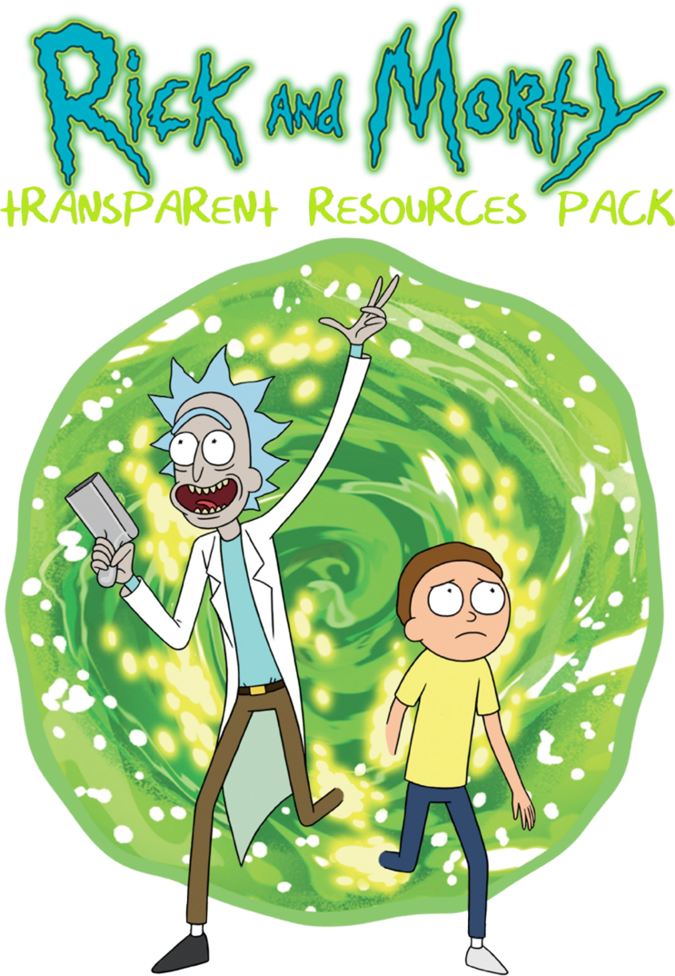 Rick and morty png transparent. Hq resource pack by