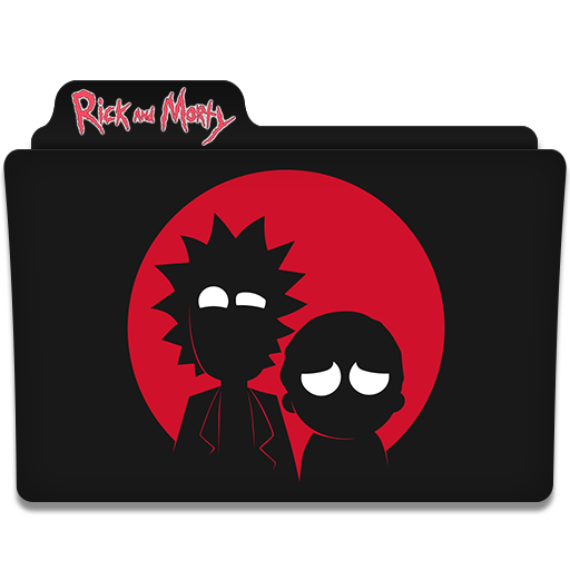 Rick and morty icon png. Folder by asmodeopt on