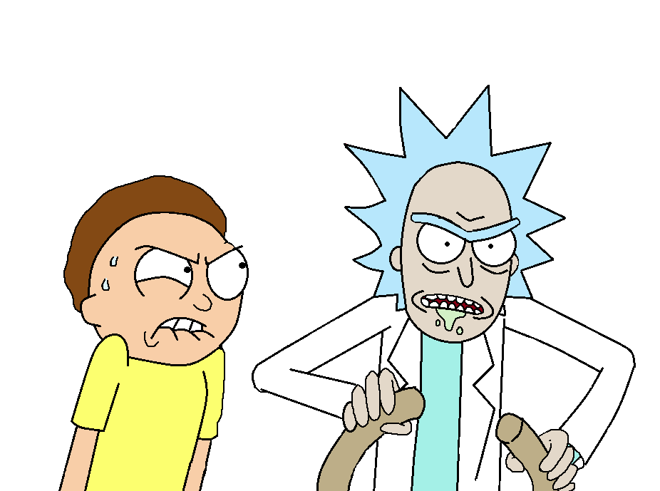 Rick and morty .png. Png free download mart