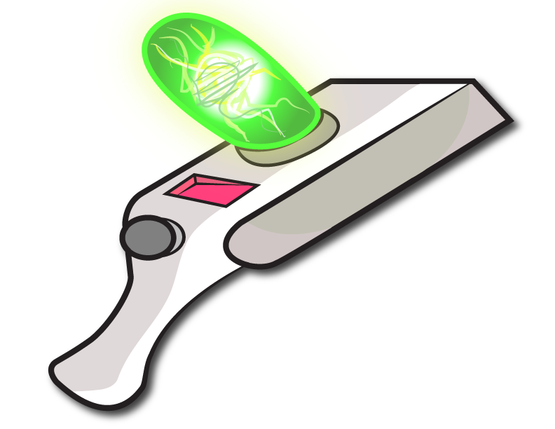 Rick and morty png portal. Doodled a gun for