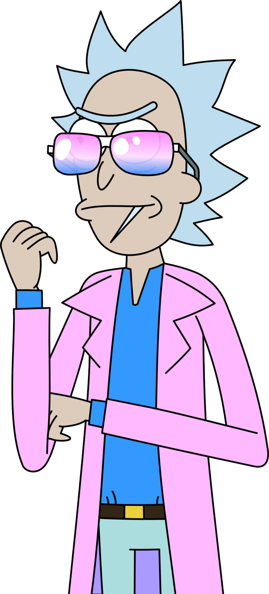 Rick and morty png tumblr. Miami transparent vector by