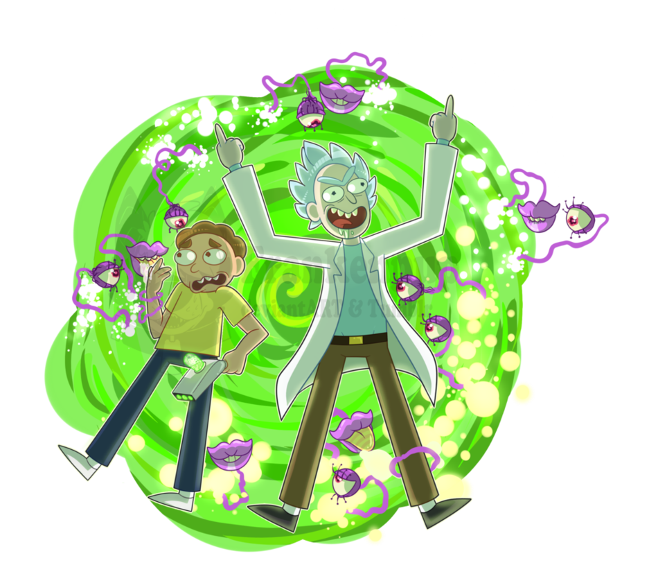 Rick and morty portal png. Are out bitches by