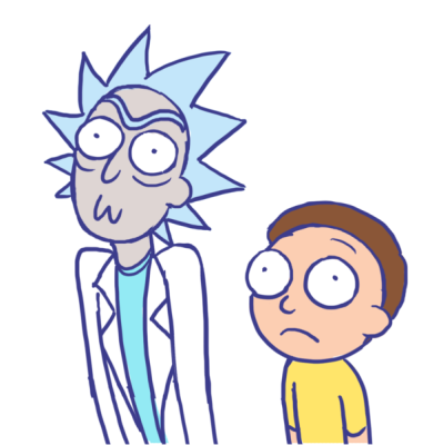 Rick and morty rick face png. Download free pic dlpng