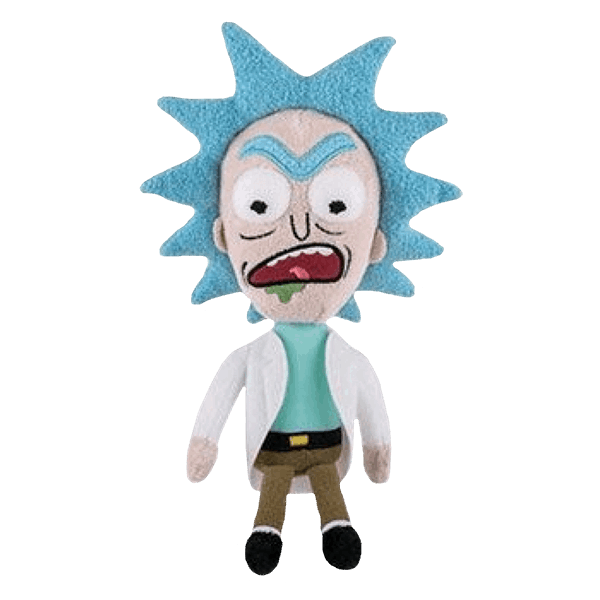 Rick and morty rick png. Sanchez angry plush zing